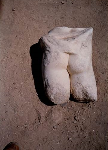 Marble Ass at Caesarea